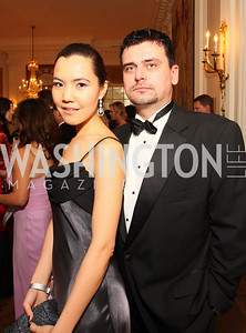 sana onayeva, vlad stanila,  Photo by Tony Powell