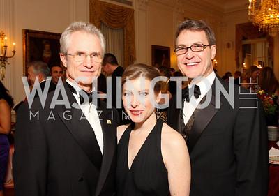Tim Kenney, Lyana Pearson, Dan Hall,  Photo by Tony Powell