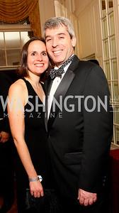 Erin Barnes, Randy Brater,  Photo by Tony Powell
