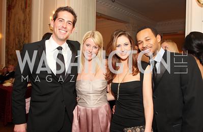 Steve Whitman, Kaela Dolan, Heather Noel, Sesay  Photo by Tony Powell