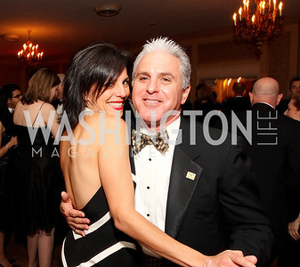 Sandra Pecina, David Berkey,  Photo by Tony Powell