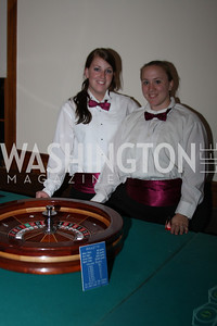 Milyssa Kuklewicz, Erin Riddle 2009 Capital for Children Casino Night. September 26, 2009. Michael Domingo.