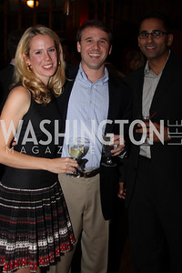 Melissa Vap, Chris Cathcart, Anug Khannn 2009 Capital for Children Casino Night. September 26, 2009. Michael Domingo.