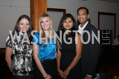 Cicely Fox, Amanda Goblesky, Susha Swamy, Nav Swamy 2009 Capital for Children Casino Night. September 26, 2009. Michael Domingo.