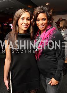 Rebecca Mejia, Jamilla Keene,  Photo by Tony Powell