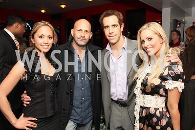 Anabel Delacerna, Mauricio Fraga Rosenfeld, Jason Van Buren, Crystal Hanno   Photo by Tony Powell