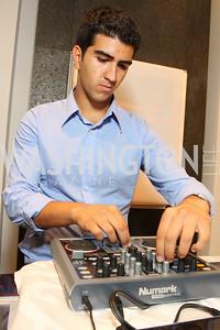 DJ Ramin Jahanbani. Photograph by Tony Powell