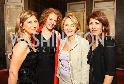 Fariba Jahanbani, Erin Corrigan, Mirella Levinas, Firouzeh Dashti. Photograph by Tony Powell