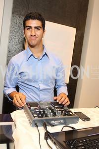DJ Ramin Jahanbani, Photograph by Tony Powell