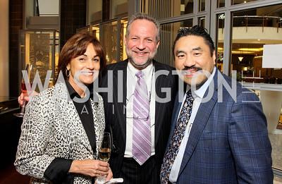 Marie Schram, Steven Schram, Robert Hisaoka. Photograph by Tony Powell