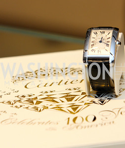 Cartier Centennial Collection Timepiece. Photograph by Tony Powell