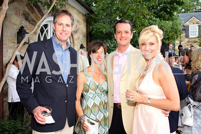 Doug Cochrance, Teri Cochrance, Clint Heiden, Tracy Heiden, Photograph by Betsy Spruill Clarke
