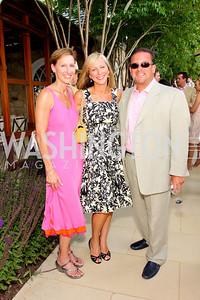 Miriam Pollin, Jean Marie Fernandez, Raul Fernandez, Photograph by Betsy Spruill Clarke