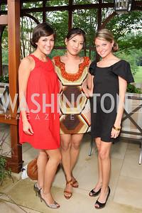 Alana Harrington, Jeanie Kim, Rebecca Canan, Photograph by Betsy Spruill Clarke
