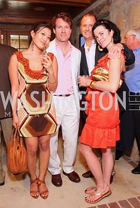 Jennie Kim, Michael Saylor, Dennis Lee, Jennifer Hosmer, Photograph by Betsy Spruill Clarke