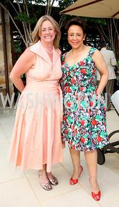 Lisa Lutz, Sheila Johnson, Photograph by Betsy Spruill Clarke