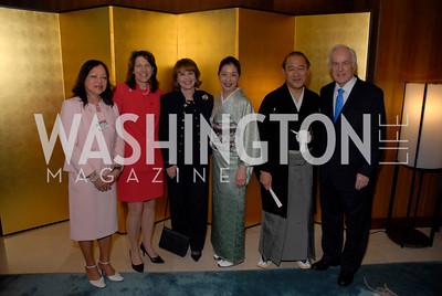 Lourdes Barrett, Diana Mayhew, Ann Hand, Yoriko Fujisaki, Ichiro Fujisaki, Lloyd Hand