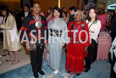 Cornelius Red Deer, Shizumi Shigeto, Chief Three Feathers, Yoko Watanabe