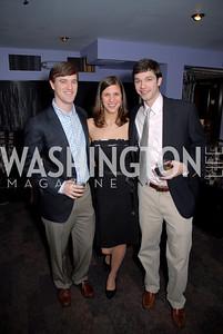 Chris Jones, Alison Sheble, Ryan Grammer, Children's National Medical Center Dancing After Dark, Photo by Kyle Samperton