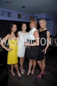 Krystina Afable, Melissa Stolarun, Erin Kelly, Courtney Hegl, Children's National Medical Center Dancing After Dark, Photo by Kyle Samperton