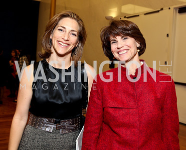 Rachel Goslins and Margo Lion. 2009 Coming Up Taller Awardees Reception. Kennedy Center Terrace Gallery. November 3, 2009. photos by Tony Powell