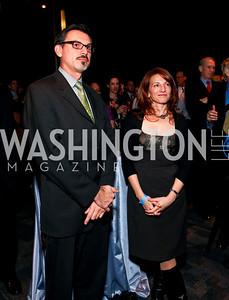 Frank Cordes and Jody Arlington. 2009 Coming Up Taller Awardees Reception. Kennedy Center Terrace Gallery. November 3, 2009. photos by Tony Powell