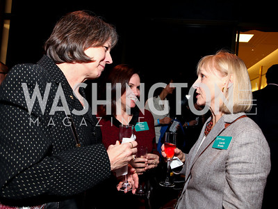 Mary Chute, Nancy Weiss, Laurie Brooks. 2009 Coming Up Taller Awardees Reception. Kennedy Center Terrace Gallery. November 3, 2009. photos by Tony Powell