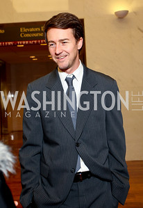 Edward Norton. 2009 Coming Up Taller Awardees Reception. Kennedy Center Terrace Gallery. November 3, 2009. photos by Tony Powell