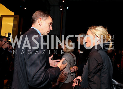 Mark Cylliton and Alexa Wesner. 2009 Coming Up Taller Awardees Reception. Kennedy Center Terrace Gallery. November 3, 2009. photos by Tony Powell