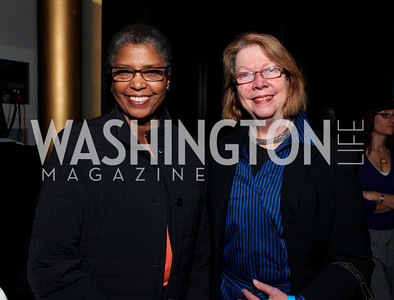 Carole Watson and Deba Leach. 2009 Coming Up Taller Awardees Reception. Kennedy Center Terrace Gallery. November 3, 2009. photos by Tony Powell