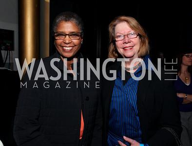 Carole Watson and Deba Leach. 2009 Coming Up Taller Awardees Reception. Kennedy Center Terrace Gallery. November 3, 2009. photos by Tony Powell