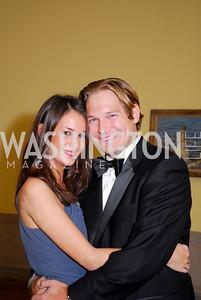 Emma Shapiro, Grant Karsas. Photograph by Kyle Samperton,October 24,2009,Corcoran 1869,