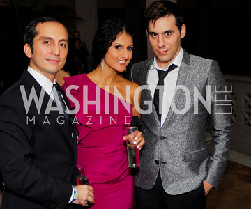 Amir Afkhami, Hastie Kargar, Chris Boutlier. Photograph by Kyle Samperton,October 24,2009,Corcoran 1869