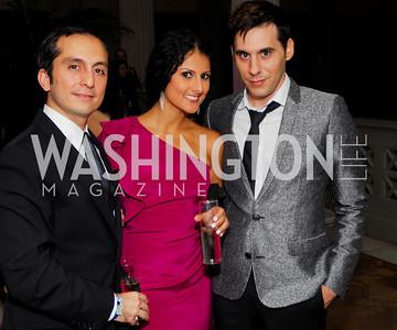 Amir Afkhami, Hastie Kargar, Chris Boutlier. Photograph by Kyle Samperton,October 24,2009,Corcoran 1869