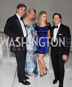 Zach Mams, Corrie Gilchrist, Jen Becker, Rob Walsh. Photograph by Kyle Samperton,October 24,2009,Corcoran 1868