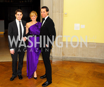 Cameron Williams, Lindsey Drath, Adam Ozmer. Photograph by Kyle Samperton,0ctober 24,2009,Corcoran 1869,