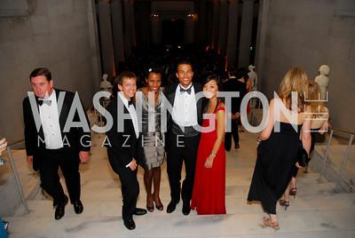 Brian Gavron, Erin Harkless, Bernard Harkless, Elizabeth Chu. Kyle Samperton,October 24,2009,Corcoran 1869