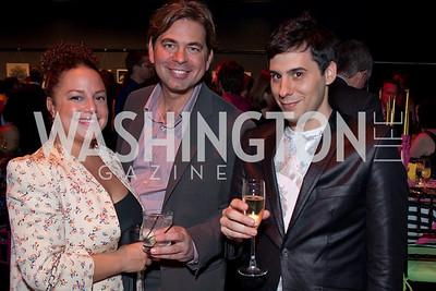 Lauren Gentile, Michael Reamy, Chris Boutlier (Photo by Luke Christopher)