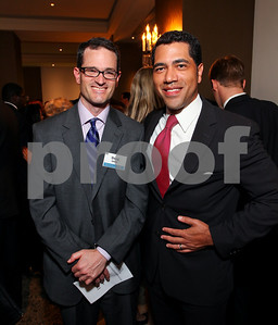 Doug Usher and Stefan Nicholas. DC Vote's 11th Annual Champions of Democracy Awards. W Hotel. October 13, 2009. photos by Tony Powell