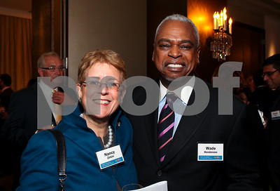 Nancy Zirkin and Wade Henderson. DC Vote's 11th Annual Champions of Democracy Awards. W Hotel. October 13, 2009. photos by Tony Powell
