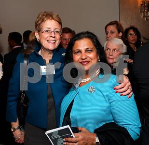 Nancy Zirkin, Sunita Leeds. DC Vote's 11th Annual Champions of Democracy Awards. W Hotel. October 13, 2009. photos by Tony Powell