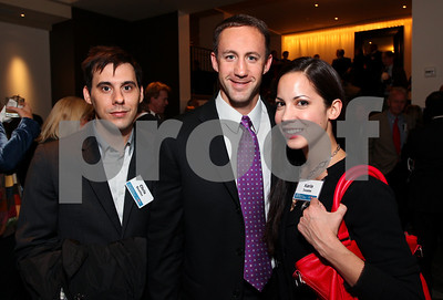 Chris Boutlier, Craig Fischer, Karin Tanabe. DC Vote's 11th Annual Champions of Democracy Awards. W Hotel. October 13, 2009. photos by Tony Powell
