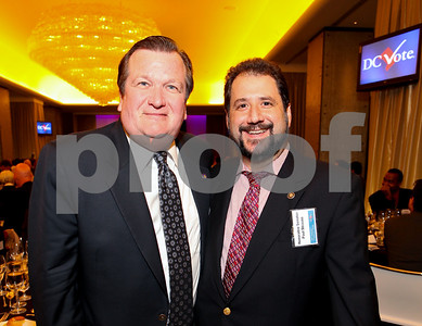 DC Shadow Senators Michael Brown and Paul Strauss. DC Vote's 11th Annual Champions of Democracy Awards. W Hotel. October 13, 2009. photos by Tony Powell
