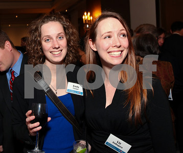 Emily Tamlyn and Liz DeBagara. DC Vote's 11th Annual Champions of Democracy Awards. W Hotel. October 13, 2009. photos by Tony Powell