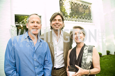 Andres Tremols, Michael Reamy, Isabel Calonder. Photograph by Betsy Spruill Clarke