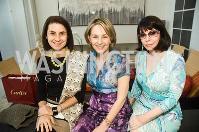 Annabelle Sielecki, Mirella Levinas, Joanne Mason. Photograph by Betsy Spruill Clarke