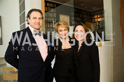 Arturo Brillembourg,  Hilda Brillembourg, Mariana Huberman. Photograph by Betsy Spruill Clarke