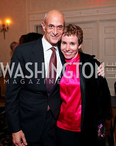 Michael and Meryl Chertoff. A dinner and concert in support of the 2010 DC Jazz Festival. The Madison Hotel. October 27, 2009. photos by Tony Powell