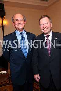 General John Marcello and Colorado Congressman Doug Lamborn. A dinner and concert in support of the 2010 DC Jazz Festival. The Madison Hotel. October 27, 2009. photos by Tony Powell