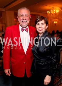 DC Jazz Festival Artistic Advisor Paquito D'Rivera and Adrienne Arsht. A dinner and concert in support of the 2010 DC Jazz Festival. The Madison Hotel. October 27, 2009. photos by Tony Powell